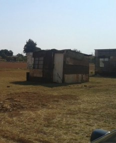 Squatters in Soshanguve have vowed not to move from the land they are occupying. (Karabo Ngoepe, News24)