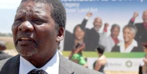 Rural development and land reform department minister Gugile Nkwinti. Picture: Yazeed Kamaldien/ Independent Media