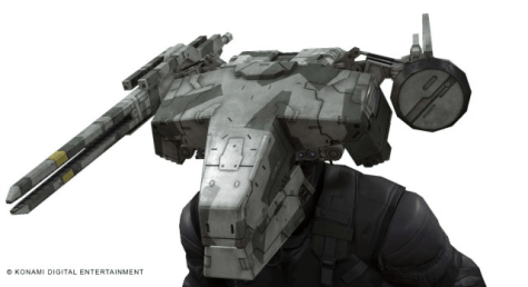 Metal Gear Rex Helmet