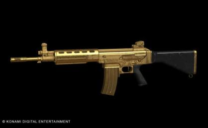 AM MRS-4 GOLD Assault Rifle