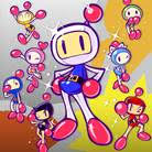 8 Shiny Bomberman Brothers Set