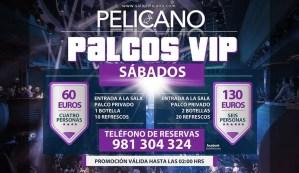 Palcos VIP sabados