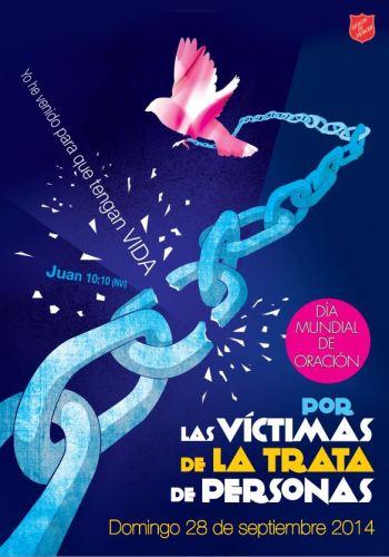 trafficking poster in spanish