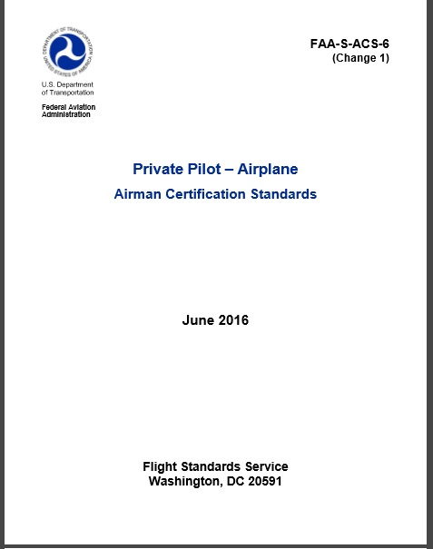 private-pilot-airplane-airman-certification-standards