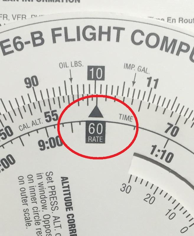 Flight Computer(航法計算盤)Part2 -時間、速度、距離について-