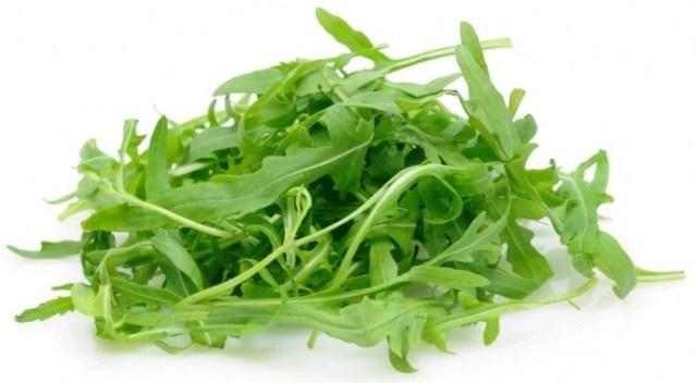 Zöldsaláta - rukkola saláta