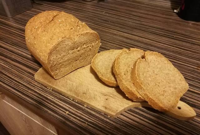 Teljes kiőrlésű kenyér recept