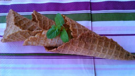 Fagyi tölcsér recept teljes kiőrlésű lisztből