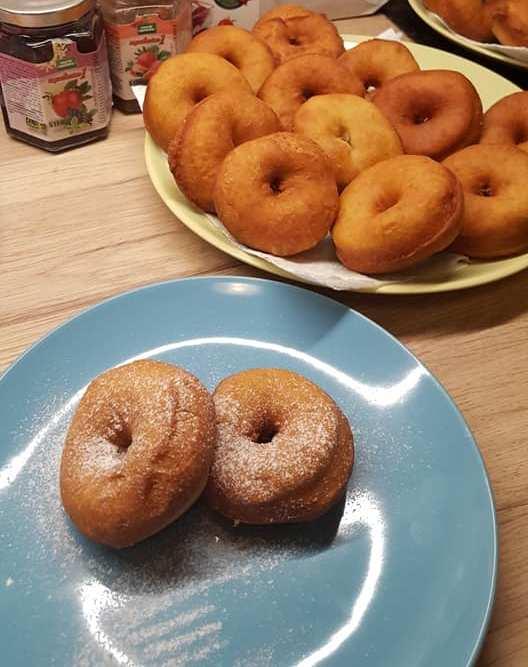 Diétás fánk kókuszolajban sütve