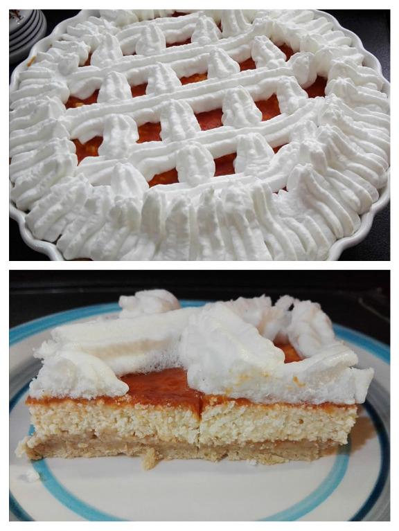 Diétás Rákóczi túrós sütemény