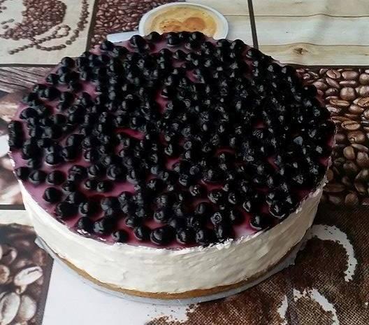 Epres diétás sajttorta sütés nélkül