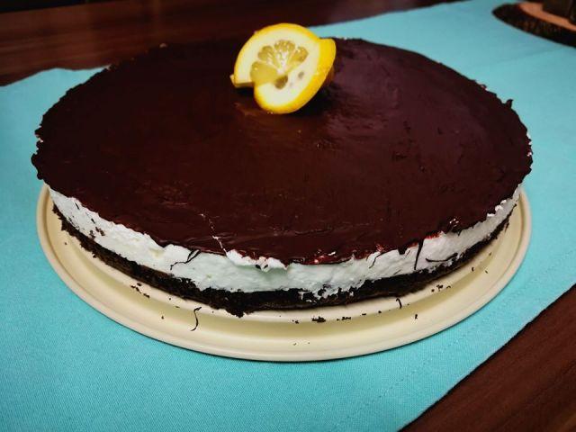 Diétás túró rudi torta