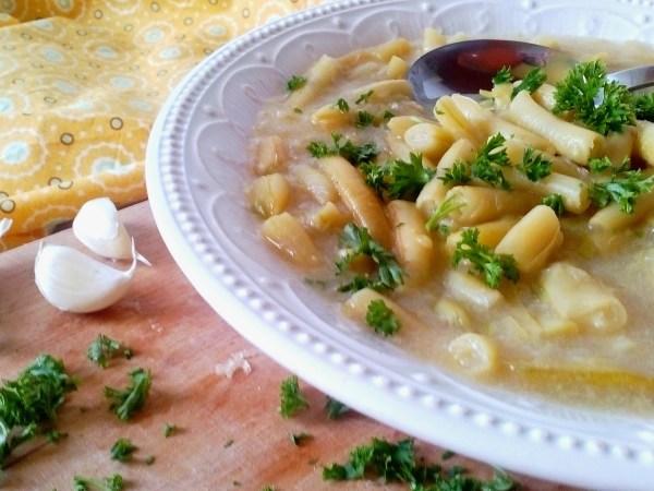Diétás zöldbabfőzelék rántás nélkül