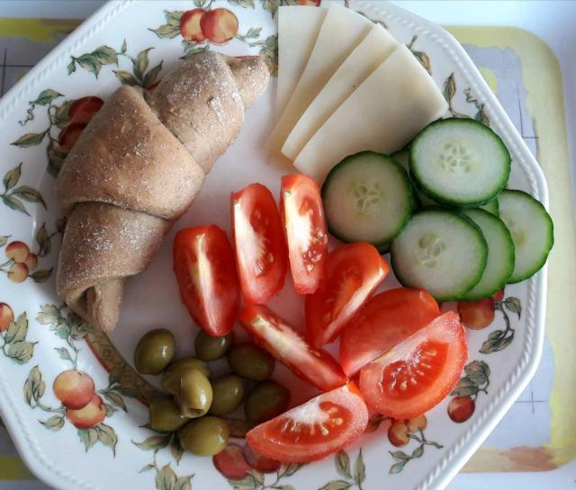 Diétás kifli recept