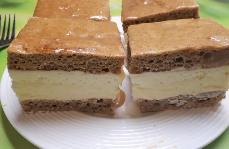 szénhidrátcsökkentett cukormentes diétás mézes krémes