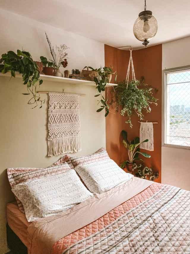 Pode ter plantas no quarto?