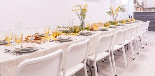 Sala tu encuentro - Mesa y cocina