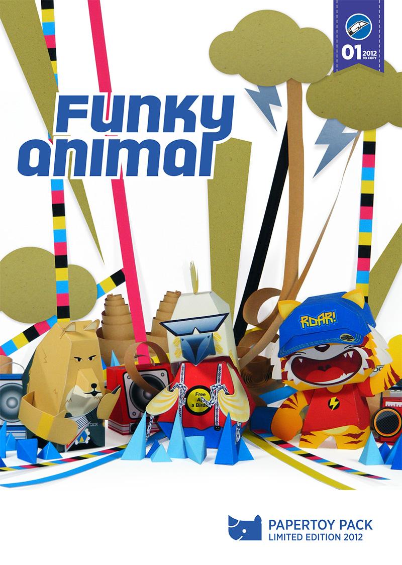 funkyanimal-papertoyattack