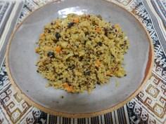 Risoto de quinoa com legumes