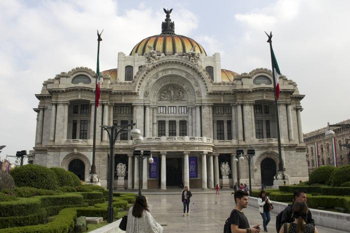 Palácio Bellas Artes - Viagem ao México