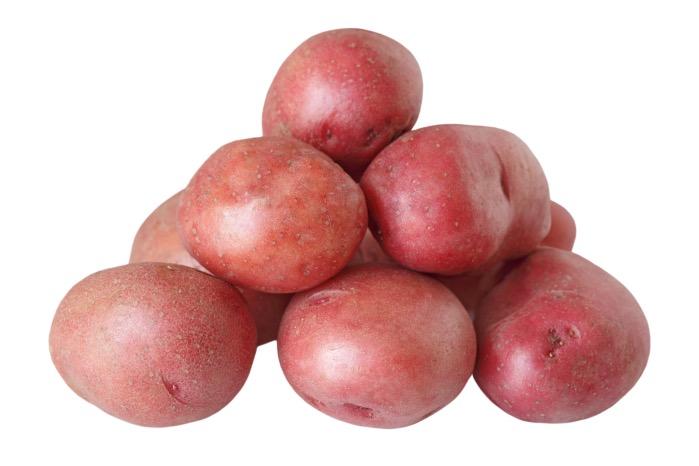A batata asterix ou rosada é menos aguada