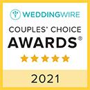 Sale e Pepe WeddingWire Couples Choice Award 2021