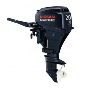 2015 NISSAN 20 HP NSF20CEF1 OUTBOARD MOTOR