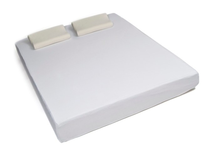 10 Full Size Memory Foam Mattress With Ventilation System 2 Contour Pillows Out Woot
