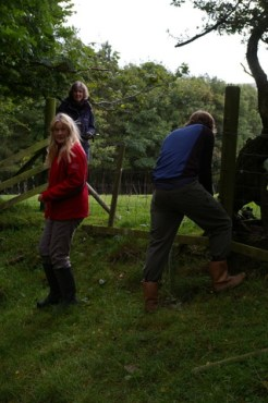 SACV - fence work on the Pennine Way 2012-09-29 iii