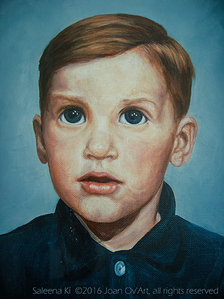 1970 Portrait of Rusty-Oils-by Joan aka Saleena Kí