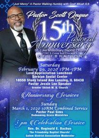 Salem Baptist District Association of Chicago.