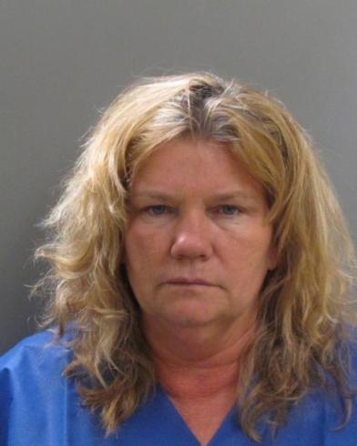 CINDY CASE, 54, OF CHESTER has been charged by Salem Police with Reckless Conduct, DUI – Impairment, Receiving Stolen Property, Disobeying an Officer, Reckless Operation and Driving After Revocation/Suspension. (Courtesy Photo Salem Police Department)