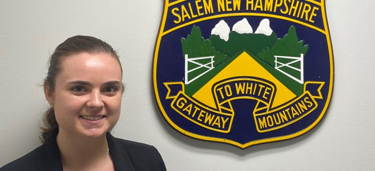 Salem Police Department Welcomes New Officer