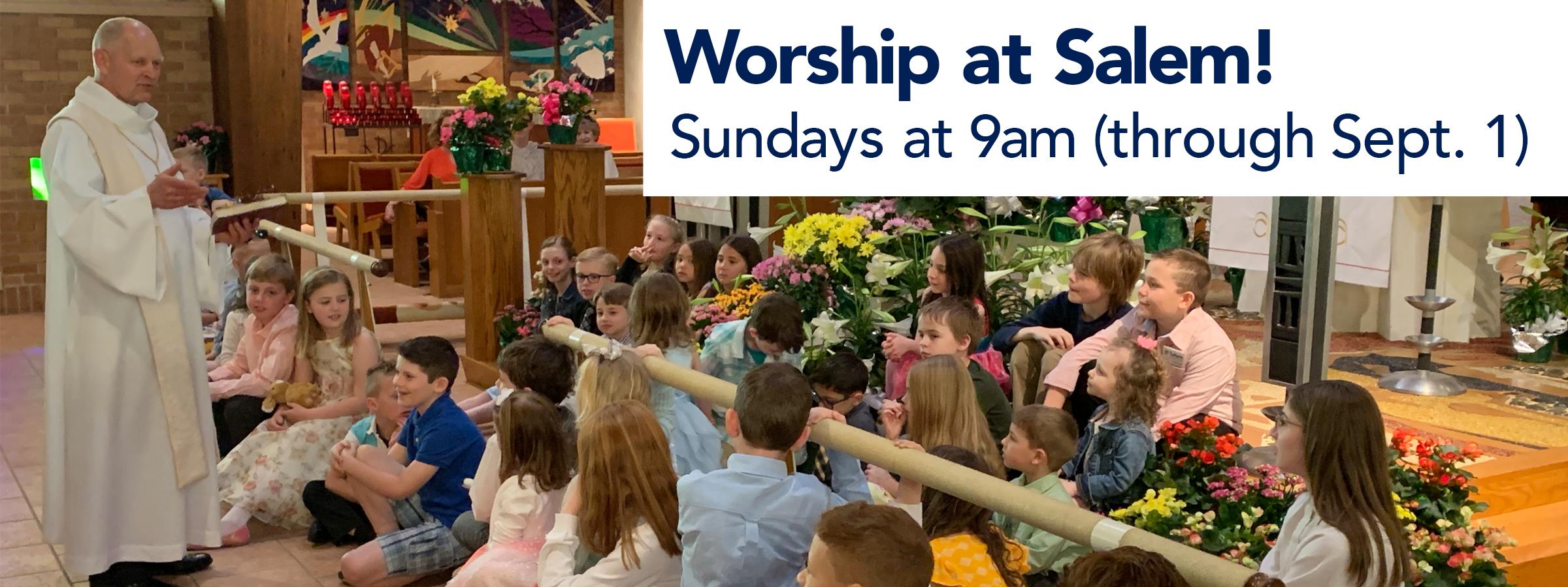 Worship Slider last Summer