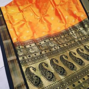 Tana Silk Paithani Semi Maharani Saree Design (Range-4)