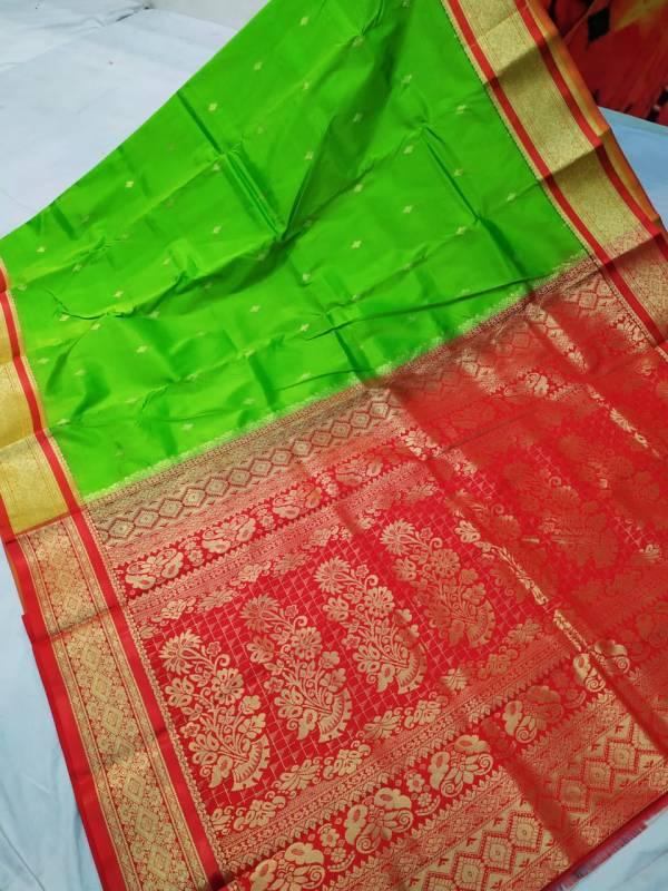 semi silk kanjeevaram saree