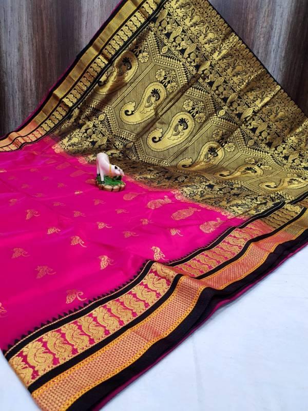 semi peacock irkal paithani saree