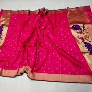 Fancy Peacock Designer Paithani Dupatta (Range-2)