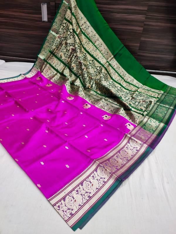 paithani peshwai saree