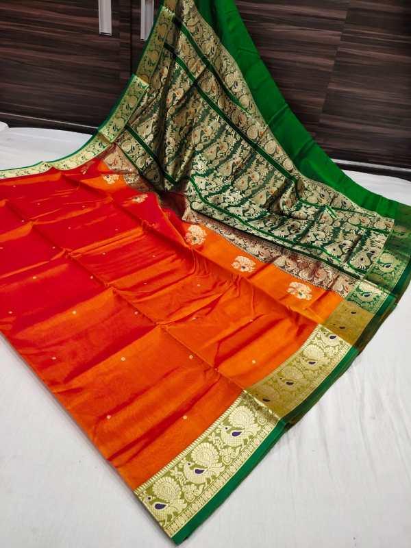 peshwai silk saree