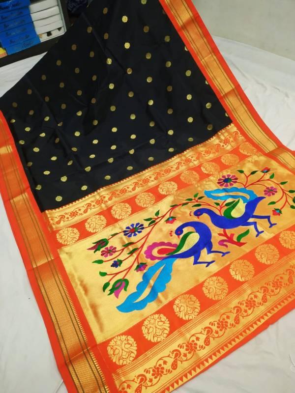 paithani peacock designs