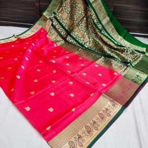Big Border Pure Silk Peshwai Paithani Saree (Range-2)