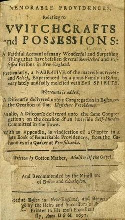 Image result for cotton mather memorable providences