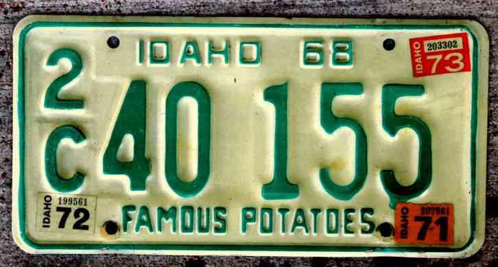 Utah License Snowmobile