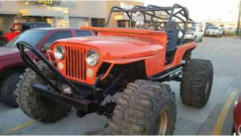 Jeep Cj Cj5 5 Rock Crawler 350 Chevy Turbo 400