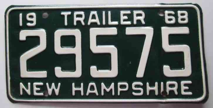 Temporary Georgia Plates