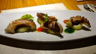 Grilled Octopus with Potatoes.