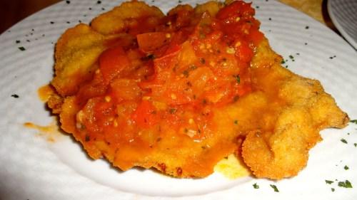 Braciola with Stewed Tomatoes (8/10).