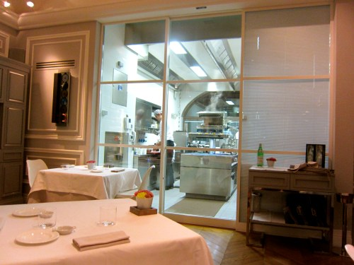 View of the Open Kitchen.