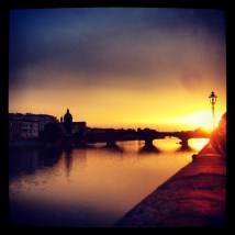 Another Florence Sunset.
